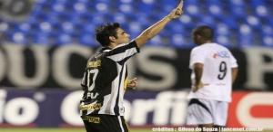 Herrera e equipe contra o Avai